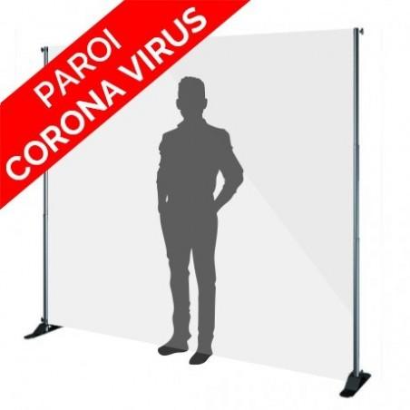CLOISON DE PROTECTION TRANSPARENTE - CORONA VIRUS