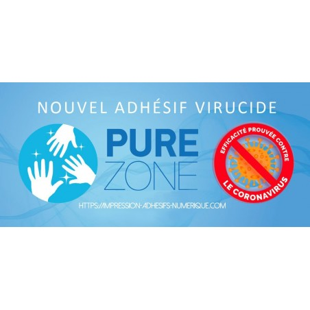 PURE ZONE® Film PVC antimicrobien-Gamme