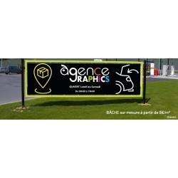 BACHE - BANDEROLE ECO - magasin ouvert