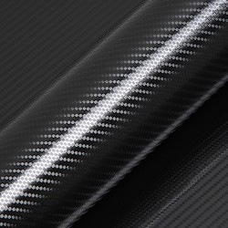 ROULEAU Adhésif Carbone Noir Pétrole Bt  - A partir de: 7.60m2
