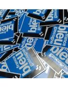 Stickers autocollants sur mesure personalisable