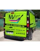 Adhesifs Total covering sur véhicule est un outil de diffusion d'image
